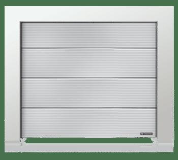 Garagedeur paneel Microprofilering