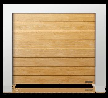 Garagedeur paneel Woodgrain breed